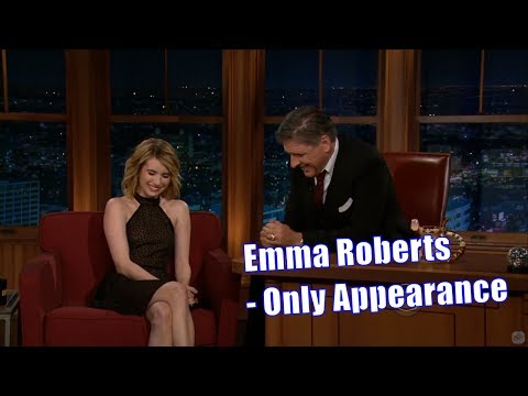 Emma Roberts - Easily Amused With Adorable Laugh - Only Appearance