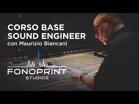 Fonoprint Studios - Corso Base Sound Engineer