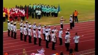 SMK Seri Intan, Ipoh, Perak - St. John Ambulance of Malaysia - Marching & Formation