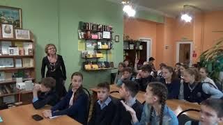 """Библиотека №3 им.В.Гордейчева Библиотечный урок """"Начало славянской письменности"""""""
