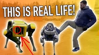 connectYoutube - Robot Uprising is Upon Us!? Boston Dynamics New SpotMini Commercial Review