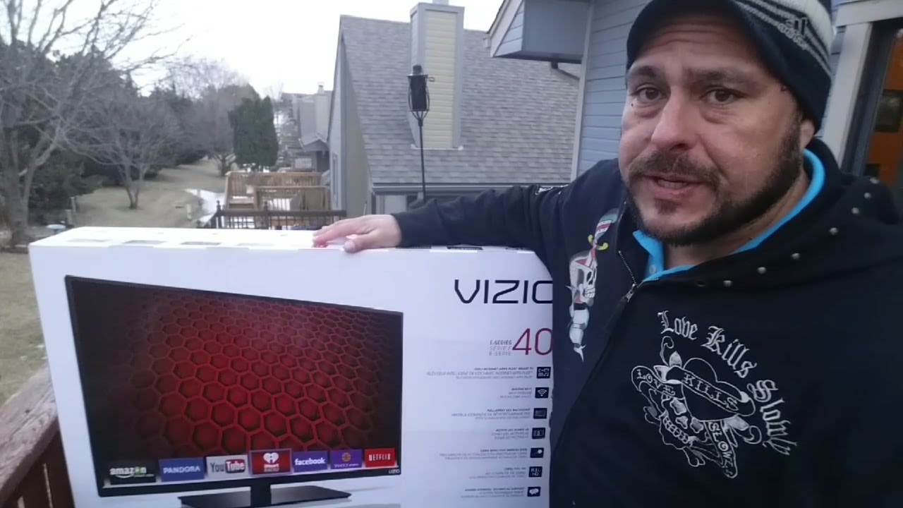 VIZIO Smart TV 1080P ESeries 40Inch Unboxing YouTube