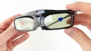 3D Active Shutter Glasses 96-144Hz for DLP-Link 3D Projector SG16-DLP