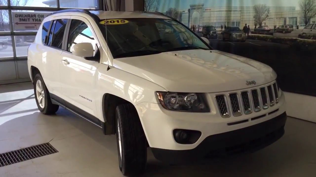 2015 JEEP COMPASS SPORT 4X4 SPORT | Accident Free and Car Proof Clean | Crosstown Auto Centre