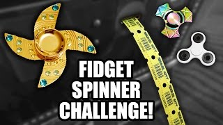 Fidget spinner arcade challenge and giveaway at Nickel City!