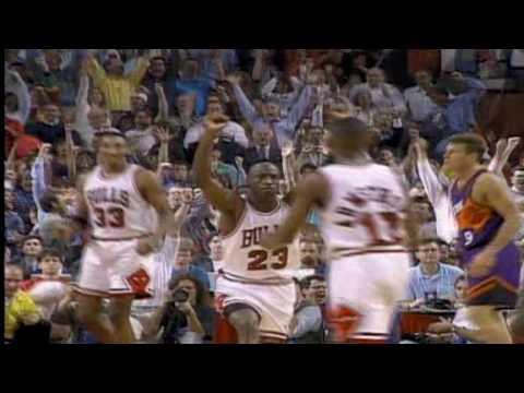 """10 pha bóng đẹp của Michael """"air"""" Jordan tại các trận chung kết NBA"""