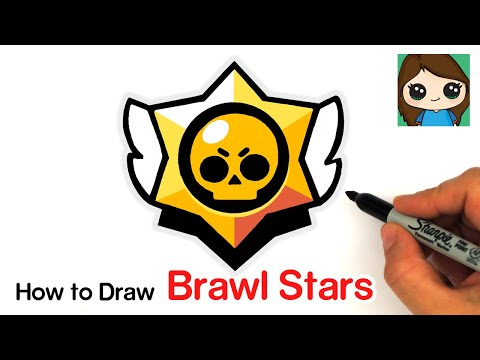How to Draw the Brawl Stars Logo