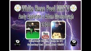 MMTV Andy Appleton v Adam Myerscough