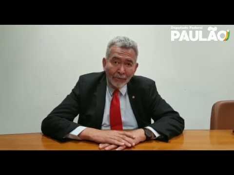 Deputado Paulão parabeniza pela vitória contra a MP 844 do saneamento