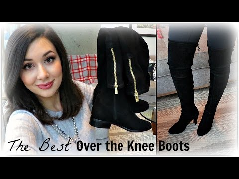 6fb894f9a The Best Over the Knee Boots - YouTube