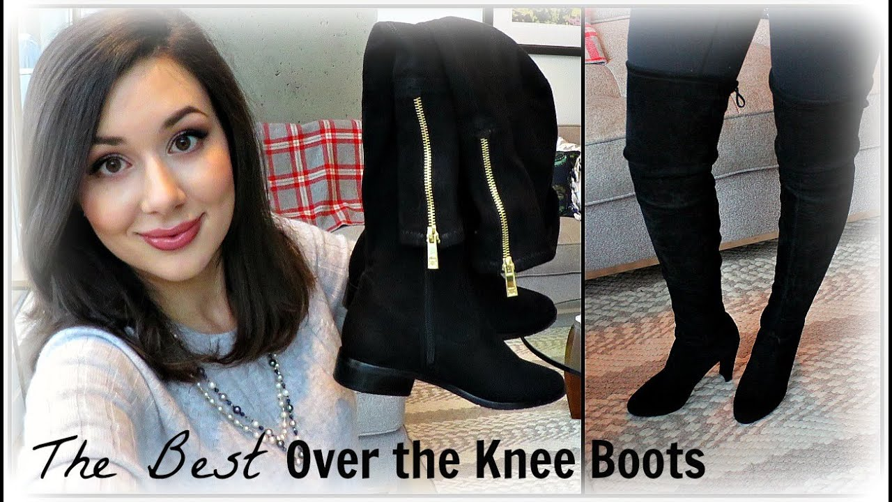 8f1697e70095 The Best Over the Knee Boots - YouTube