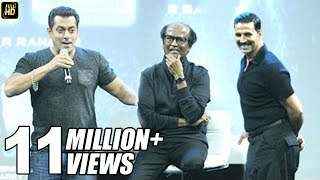 Salman Khan's BEST Praise For Rajnikanth & Akshay Kumar In Robot 2.0 Movie