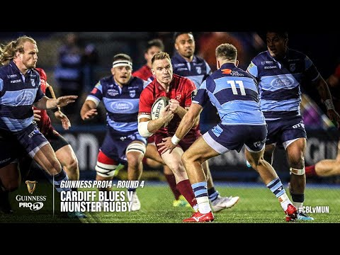 Guinness PRO14 Round 4 Highlights: Cardiff Blues Vs Munster