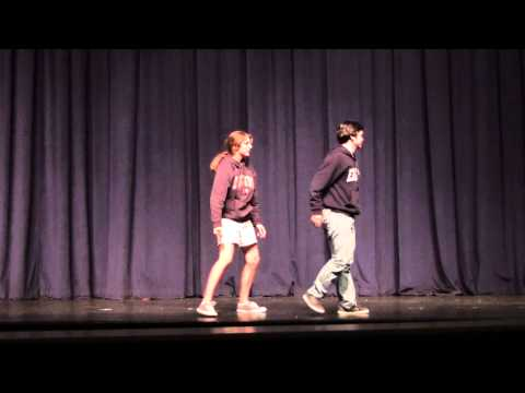 Austin Bryant and Aly Bonville's Duet Pantomime