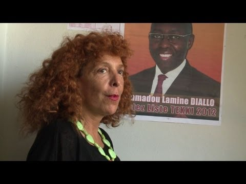 A first white woman stands in Senegal's elections