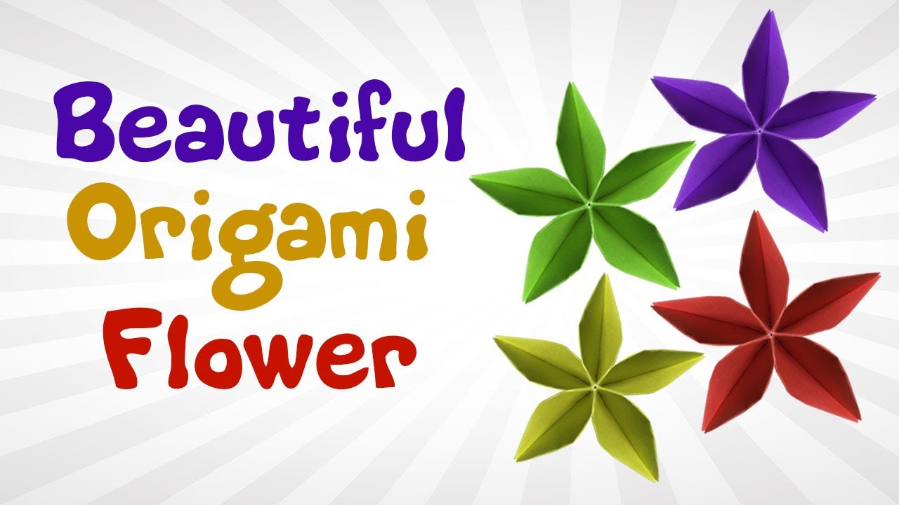 Beautiful origami flower easy diy origami flowers for beginners beautiful origami flower easy diy origami flowers for beginners cool origami flower for kids dhlflorist Choice Image