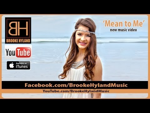 Brooke Hyland - Mean to Me - Music Video (OFFICIAL)