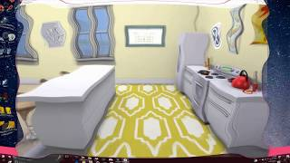 SIMS 4 CITY LIVING APARTMENT TOUR & Get To WORK || Black Sim Lets Play