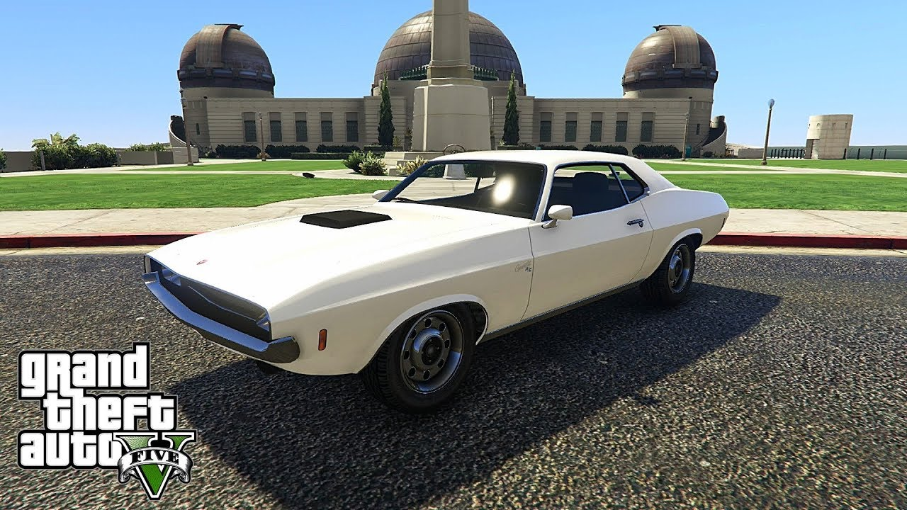 GTA V (Online) 1 New Muscle Car: Gauntlet Classic (DLC: Diamond Casino &  Resort)