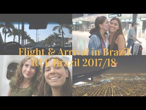 Flight & Arrival in Brazil // RYE 2017/18 Brazil