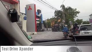Test drive Xpander Ultimate matic di Jogjakarta