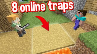 MOST EFFECTIVE MINECRAFT ONLINE TRAPS BY SCOOBY CRAFT