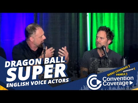 ConventionCoverage: Dragon Ball Super English Voice Actors SacAnime Summer 2018