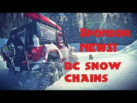 SPONSOR NEWS & SNOW CHAINS   RC Trailblazer