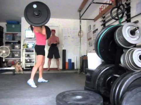 Sally Russell does Workout 13.5 v1
