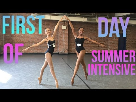 Dance Theatre of Harlem SI vlog #1: First Day of DTH's Summer Intensive | Life As Gabi♡♡♡