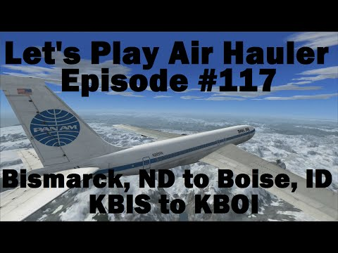 FSX | Let's Play Air Hauler Episode #117 - Last 707 Flight | Boeing 707