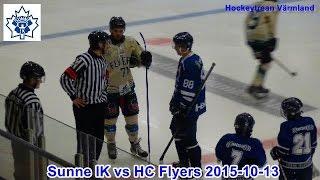 Sunne IK vs HC Flyers 2015 10 13