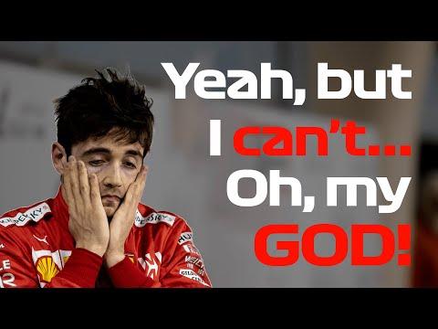 Uncut Leclerc's Team Radio After Engine Problem (w/ Subs) | 2019 Bahrain Grand Prix