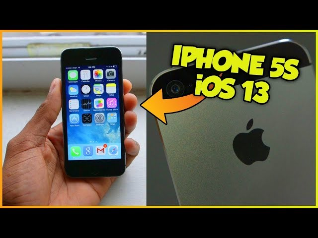 iOS 13 anche su iPhone 5s e iPhone 6?