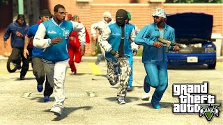 GTA 5 | BLOODS VS. CRIPS EP. 16 [HQ]