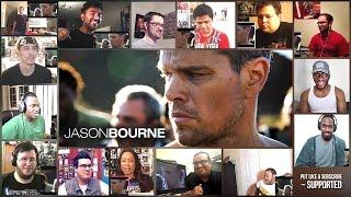 Jason Bourne  Trailer Reaction's Mashup