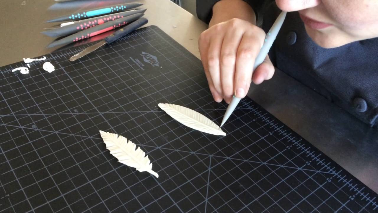 How to make fondant feathers youtube - How To Make Chocolate Feathers Using Innovative Sugarworks Sugar Shapers
