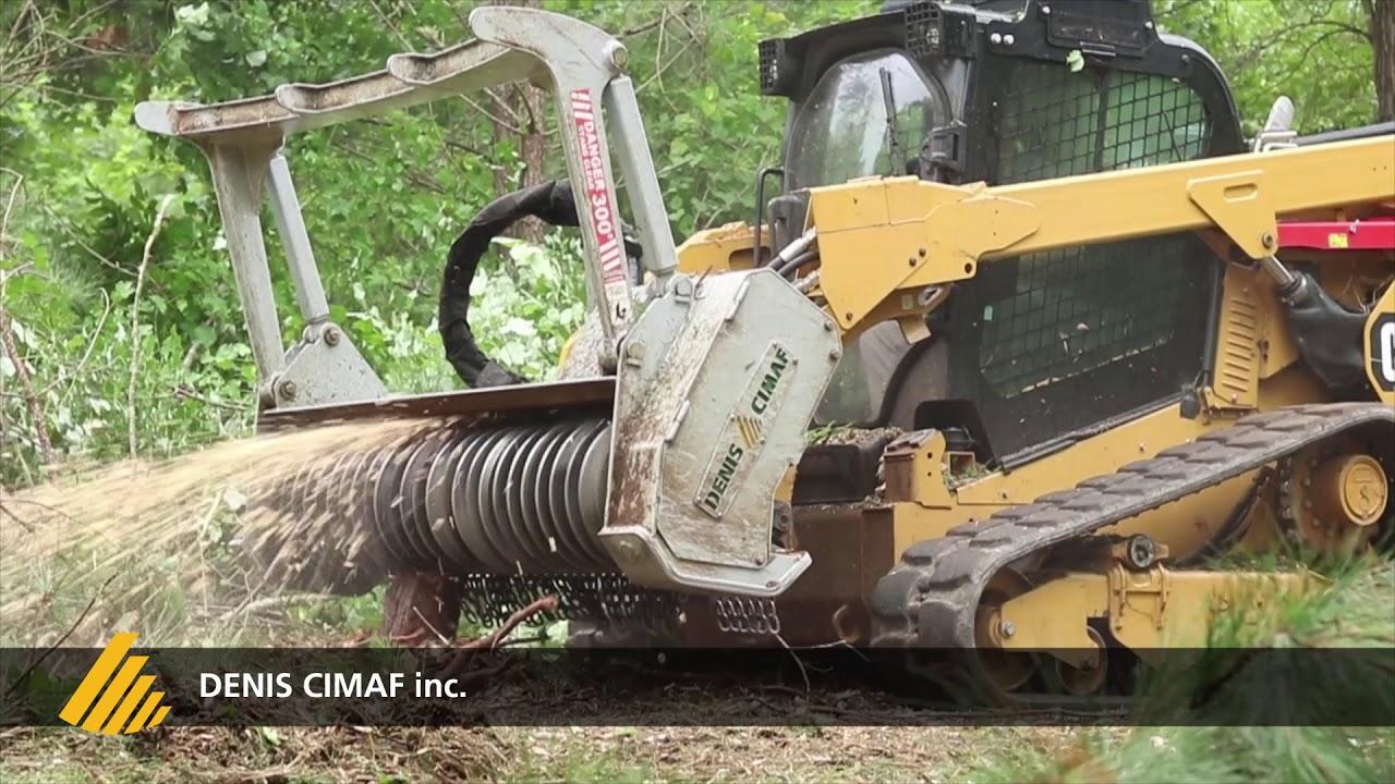 Skid Steer Forestry Mulcher Attachments from Denis Cimaf