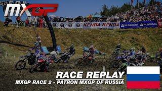 Patron MXGP of Russia 2019  Replay MXGP Race 2  Motocross