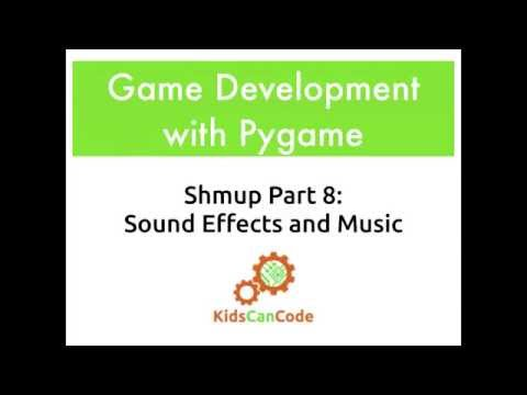 Pygame Shmup Part 8: Sound and Music