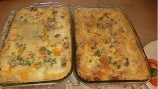 Vegetable Meat Lasagna With Béchamel Sauce By Create Cooking's Channel