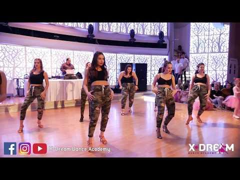 Bachata Sensual || Group Choreo || X-Dream Carnival Show Dance 2018 ||