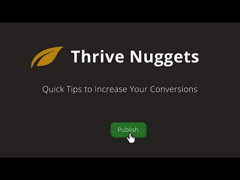 Thrive Nuggets: Get Higher Open and Click-through Rates