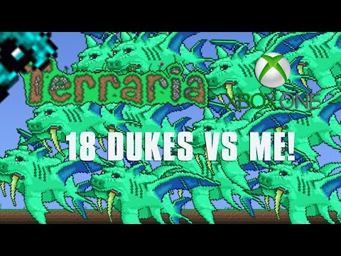 Terraria Xbox One Let's Play - 18 DUKE FISHRONS AT ONCE [118]