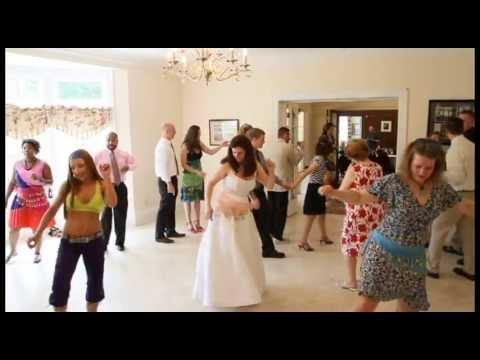 Zumba at Wedding Reception June 2013