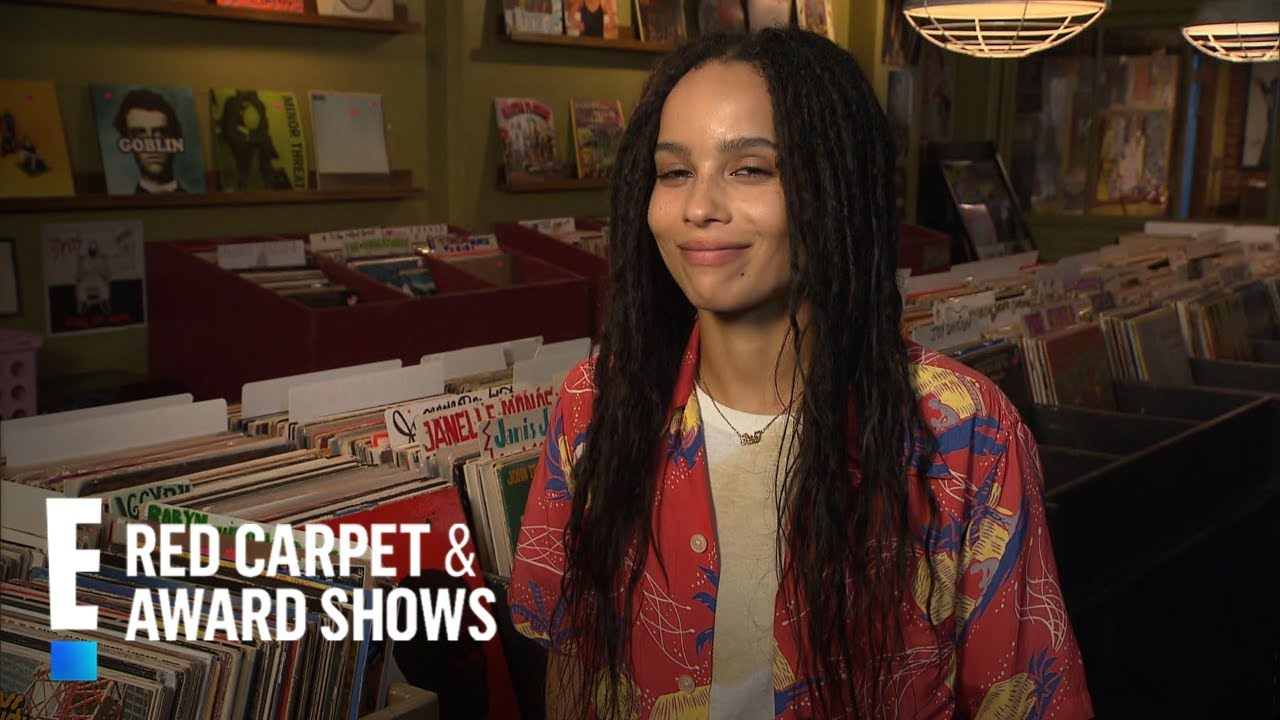 Zoë Kravitz Reacts to Being in
