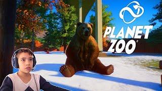 Mostrando meu ZOOLÓGICO no PLANET ZOO | O novo simulador de Zoológico!!! INCRÍVEL