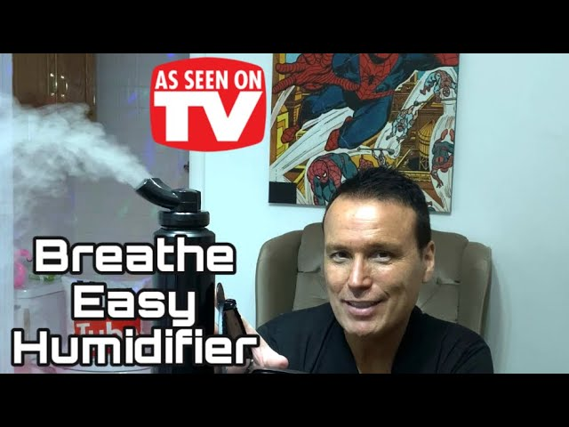 BREATHE EASY AS SEEN ON TV 1.2 GAL DIGITAL HUMIDIFIER