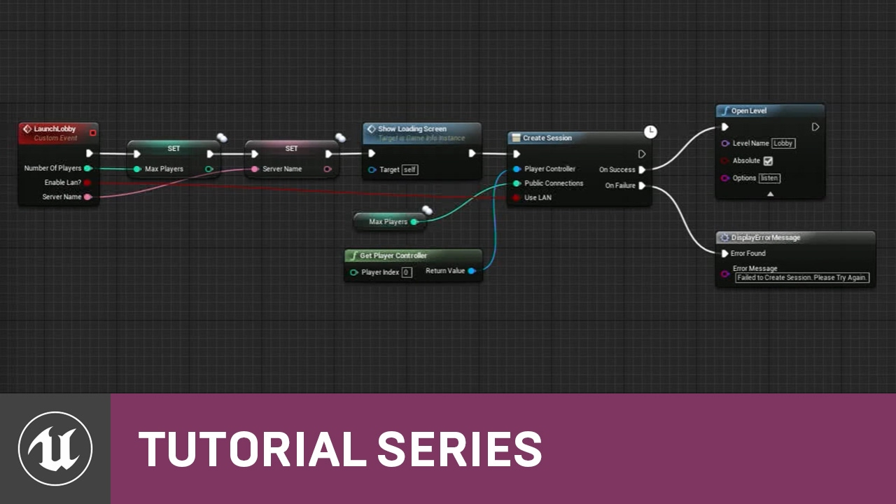 Blueprint multiplayer project overview 01 v411 tutorial blueprint multiplayer project overview 01 v411 tutorial series unreal engine malvernweather Gallery