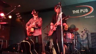 "Dean Ray & Bill Chambers perform Johnny Cash's ""Nine Pound Hammer"""